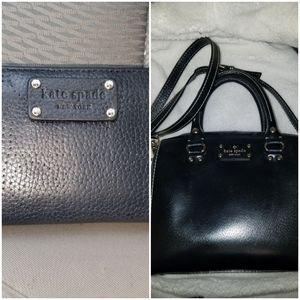 BOTH ♠️kate spade♠️bag and wallet